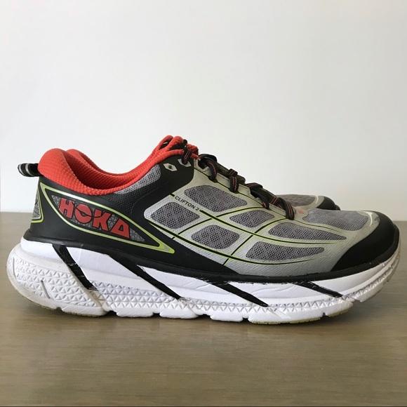 new arrivals 52e2c 8c886 Hoka One One Clifton 2 Men's Running Shoes